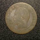 OLD UNKNOWN FRANCE NAPOLEON COIN 1800S