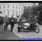 *NEW* Antique,Vintage Motorcycle Photo[8x10] President Coolidge,Whitehouse,1924