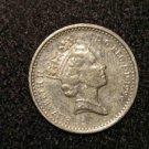 1996 BRITISH UK ENGLAND GREAT BRITAIN  FIVE PENCE-- ELIZABETH 2 COIN