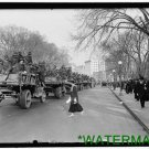 *NEW* Antique Classic Truck Photo[8x10] US Soldiers in City on Trucks, DC Army