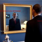 New 8.5x11 Photo:President Barack Obama: Last look in Mirror before taking Oath