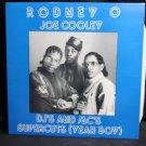 Vintage Record LP Case: No Record : Great for Framing! --Rodney Joe Cooley DJs