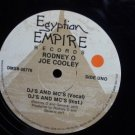 "Vintage Record LP: Egyptian Empire Records ""Rodney O Joe Cooley"" DJs and MCs"