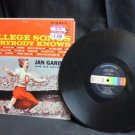 Vintage Record LP: College Songs Everybody Knows Decca--Jan Garber Orchestra