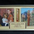 Vintage/Antique Thermostat Calendar: Guido's Liquor Store  (RI) Lassie? Horses