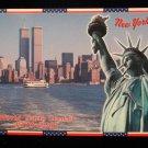 ORIGINAL POSTCARD: NEW YORK WORLD TRADE CENTER: 1973-2001 COMMEMORATIVE=