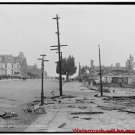 New Antique Photo:BW:8.5x11:San Francisco:Van Ness Ave--limit of Fire c1906