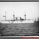 New Antique Photo:BW:8.5x11:San Francisco:U.S.S. San Francisco Ship c1891