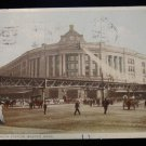 ANTIQUE ORIGINAL POSTCARD: S. STATION, BOSTON: -SACKVILLE, NEW BRUNSWICK, CANADA