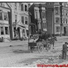 New Antique Photo:8.5x11:San Francisco:Earthquake: Cleaning Street Horse Wagon