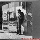 New Antique Photo:BW:8.5x11:San Francisco: Depression Era Skid Row Howard: c1936