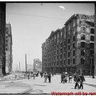 New Antique Photo:BW:8.5x11:San Francisco:Palace Hotel Earthquake c1906
