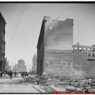 New Antique Photo:8.5x11:San Francisco:Market Street from 5th c1906 Earthquake