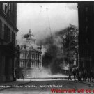 New Antique Photo:8.5x11:San Francisco:Grand and Palace Streets 1906 Earthquake