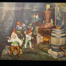 ANTIQUE ORIGINAL POSTCARD: MOONSHINE STILL, ROCK CITY GARDENS, LOOKOUT MOUNTAIN