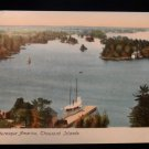 ANTIQUE ORIGINAL POSTCARD: THOUSAND ISLANDS, NEW YORK, EAGLE, BEAUTIFUL