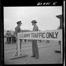 New Antique Photo:BW:8.5x11:San Francisco: Army Sentries Transport Dock 1941 WW2