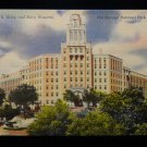 ANTIQUE ORIGINAL POSTCARD: US ARMY NAVY HOSPITAL, HOT SPRINGS NP, ARKANSAS