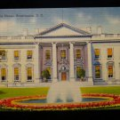 ANTIQUE ORIGINAL POSTCARD: WHITE HOUSE, LINEN, 139 HAMPTON RD, GARDEN CITY, NY