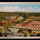ANTIQUE ORIGINAL POSTCARD: WOODMEN OF AMERICA SANATORIUM, COLORADO SPRINGS CO