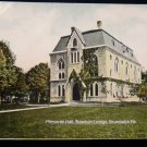 ANTIQUE ORIGINAL POSTCARD: MEMORIAL HALL, BOWDOIN COLLEGE, BRUNSWICK, MAINE