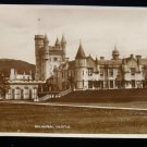 ANTIQUE ORIGINAL POSTCARD: BALMORAL CASTLE, UNITED KINGDOM, ENGLAND RPPC