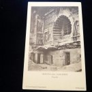 ANTIQUE ORIGINAL POSTCARD: AJANTA CAVES, INDIA: HYDERABAD ARCHAEOLOGICAL DEPT