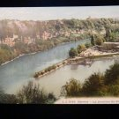 ANTIQUE ORIGINAL POSTCARD: GENEVA SWITZERLAND, LA JONCTION DU RHONE RIVER