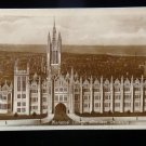 ANTIQUE ORIGINAL POSTCARD: MARISCHAL COLLEGE, ABERDEEN UNIVERSITY UK RPPC PHOTO