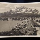 ANTIQUE ORIGINAL POSTCARD: LUZERN, SWITZERLAND RPPC:169 BURRILL ST, SWAMPSCOTT