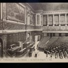 ANTIQUE ORIGINAL POSTCARD: VERSAILLES, LE CHATEAU, LA SALLE DU CONGRES N.WRITING