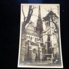 ANTIQUE ORIGINAL POSTCARD: CATHEDRAL PIERRE SWITZERLAND: PHOTO RPPC