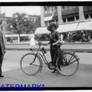 *NEW* Antique Bicycle Photo:(8X10) New York Times Messenger Girl, Woman, Hat