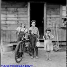 *NEW* Antique Bicycle Photo:(8X10) The Arnold CHildren, Western Washington, Cat
