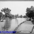 *NEW* Antique Bicycle Photo:(8X10) The Lake, Wade Park, Cleveland, Ohio B&W