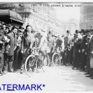 """*NEW* Antique Bicycle Photo:(8X10) Racers, """"Fred,Scherer & Walter Wiley"""" Subway"""