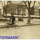 *NEW* Antique Bicycle Photo:(8X10) 132 N. St, SE Washington D.C. Western Union
