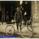 *NEW* Antique Bicycle Photo:(8X10) African American, Messenger, Birmingham,AL