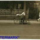 *NEW* Antique Bicycle Photo:(8X10) Package Boy, Delivery,Montgomery Alabama