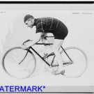 *NEW* Antique Bicycle Photo:(8X10) Norman Anderson, Large, Racing Bike, 1914 Nov