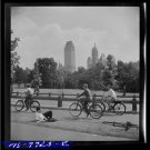 *NEW* Antique Bicycle Photo:(8X10) New York, New York Central Park, Path, B&W