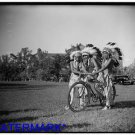 *NEW* Antique Bicycle Photo:(8X10) Native Americans with Bicycles,headdresses