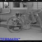 *NEW* Antique Bicycle Photo:(8X10) Inflating Bicycle Tire, Abbeville, Louisiana