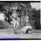 *NEW* Antique Bicycle Photo:(8X10) Houston Children, TX, Tricycles Wooden