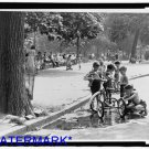 *NEW* Antique Bicycle Photo:(8X10) Tricycles in puddle, Washington Square Curb