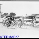 *NEW* Antique Bicycle Photo:(8X10) Bike Race, Near Washington D.C., Old Cars