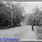 *NEW* Antique Bicycle Photo:(8X10) Belle Isle Park, Forest Drive, Dirt Road, Old