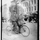 *NEW* Antique Bicycle Photo:(8X10) Captain Geo. L Baum, 1919, Tricycle, Man