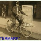 *NEW* Antique Bicycle Photo:(8X10) Messenger Boy, New Oreans, Telegraph Company