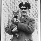 "Antique-RP-Cat Photo:(8X10) ""Tige"" The White House Cat of Mrs. Coolidge"
